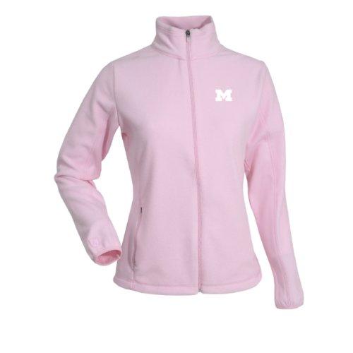 NCAA Women's Michigan State Spartans Sleet Polar Fleece, Mid Pink, Medium Antigua Jackets autotags B003V5CLYY