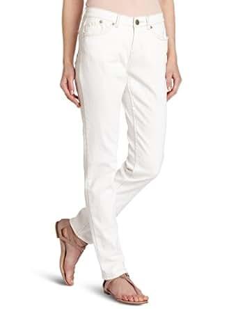 Unionbay Women's Lucille Skinny Jean, White, 6