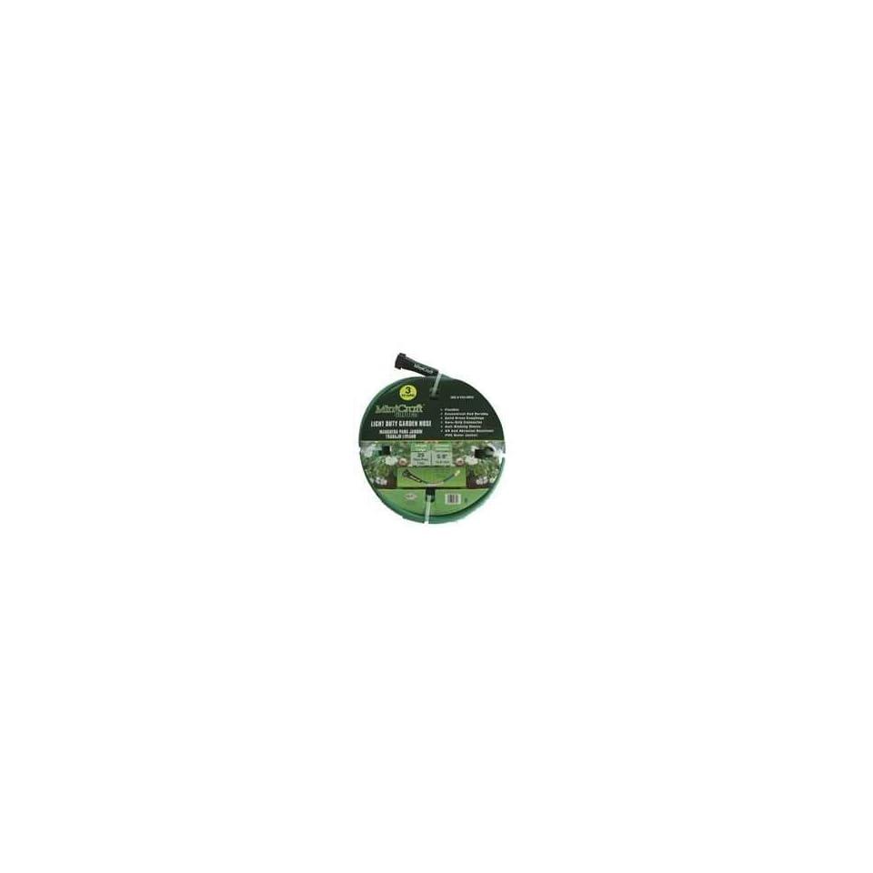Light Duty 3 Ply PVC Garden Hose, 5/8 x 25 Patio, Lawn & Garden
