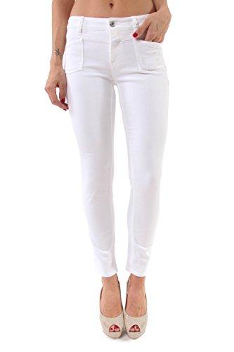 Jeans Pedal X Denim Stretch bianco 0