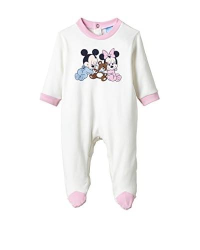 Fantasia Tutina con Piedini Baby Disney [Fucsia]
