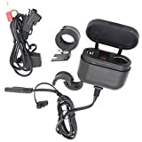 Banggood Motorcycle Dual USB Charger+Cigarette Lighter Power Socket With Switch