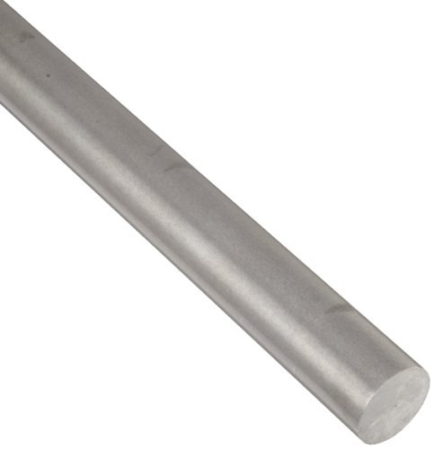 1018 Carbon Steel Round Rod, Unpolished (Mill) Finish, ASTM A108, 0.625