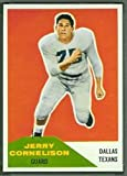 1960 Fleer Regular (Football) Card# 87 Jerry Cornelison of the Dallas Texans Ex Condition