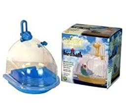 JW Pet Company Insight Bird Bath Bird Accessory, online, cages, parakeet, toys, parrot, cage, bath