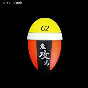 釣武者 鬼馬ウキ攻 イエロー/オレンジ 0