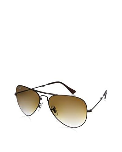 Ray Ban Women's Aviator Sunglasses, Brown