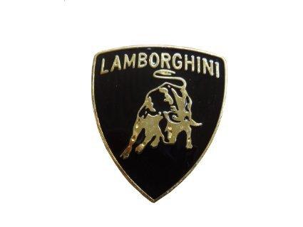 Lamborghini Car 3d Metal Golden Chrome Badge Car Emblem Decal Side