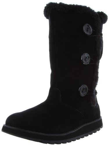 Skechers Womens Keepsakes Canoodle Black Slouch Boots 48022 3 UK, 36 EU