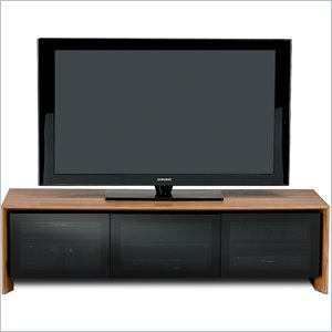 Cheap BDI Casata Flat Panel or Rear Projection TV Stand in Natural Walnut (8627WL)