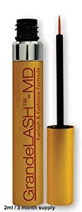 GrandeLASH MD Eyelash and Eyebrow Enhancer for Length, Fullness, and Darkness,2 ml