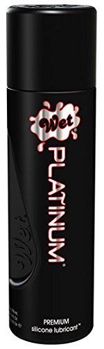 Wet Wet Platinum Premium Silicon Lubricant, 3.1 oz (Pack of 3) (Wet Platinum Premium Lubricate compare prices)