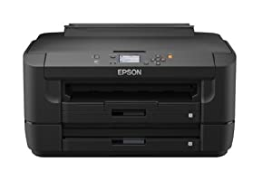 Epson WorkForce WF-7110DTW A3 Duplex Business Printer with Front-loading Tray - (Wi-Fi, Ethernet and Double-sided Printing)