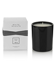 White Scents French Linen Fragranced Candle