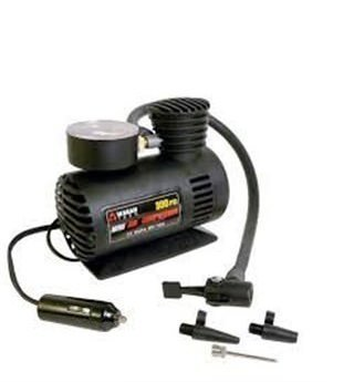 Wyane-Enterprises-300Psi-12V-Car-Black-Electric-Air-Compressor-Tyre-Pump