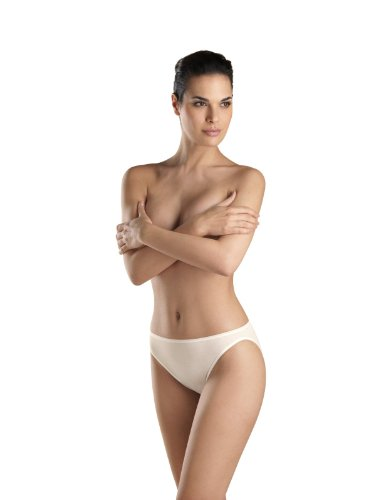 Hanro Women's Simply Satin Hi-Cut Panty Brief Panty
