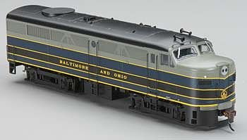 Bachmann B and O HO Scale Alcofa2 Diesel Locomotive - DCC Sound Value On Board