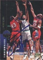 Stacey King Minnesota Timberwolves 1994 Upper Deck Autographed Hand Signed Trading... by Hall+of+Fame+Memorabilia