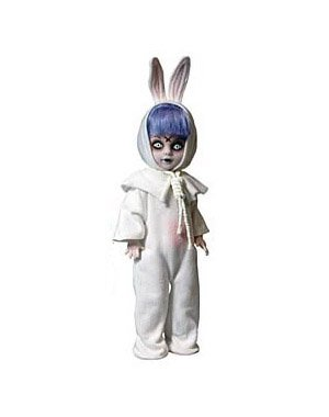 Picture of Mezco Living Dead Dolls 13th Anniversary Series - Eggzorcist Figure (B005EMN9PM) (Mezco Action Figures)