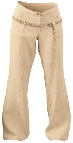 Organic Hemp Women's Party Pants (Ac) - L