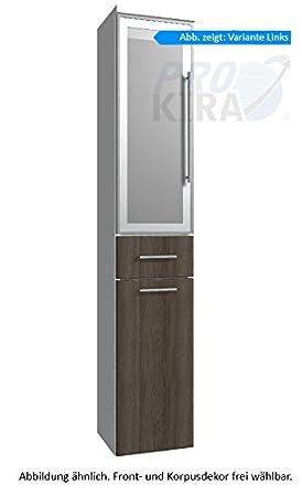Classic Line Puris (HNA053B7WL / R Tall Cupboard Bathroom Cupboard 30 CM