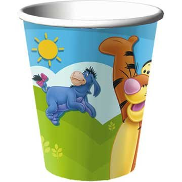 Pooh and Friends Paper Cups, 8ct