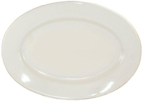 Iti-Ro-51 Roma 15-1/2 By 10-1/2-Inch Platter, 12-Piece, American White