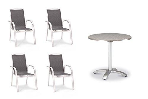 BEST 94150084 5-teilig Set Palermo und Maestro 90 cm, silber / acantus günstig kaufen