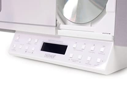 Purchase  Microsystem Iphone/Ipod docking Station CD Radio USB SD MP3 Denver MCI-103 white