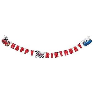 Disney Cars Happy Birthday-Banner Cars Speed Bewertungen