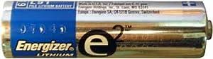 100 AA Energizer L91 Lithium Batteries - Expire 2027