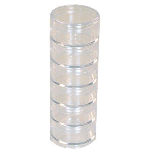 Plastic Storage Organizers Storage Stackable Clear