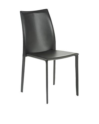 Eurostyle Dalia Side Chair, Black