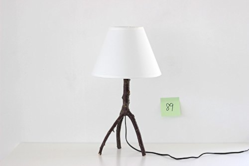 """FEI&S """"albero"""" manuale albicocca legno LED limitata l'atmosfera creativa di semplice, occhiali di protezione lampada da scrivania lampada sul comodino luce"""
