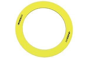 Kwik Goal Flat Training Rings (Pack of 6), Yellow