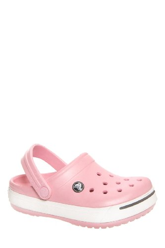 Crocs Kid's Crocband Ii Flat Clog - Petal Pink Graphite