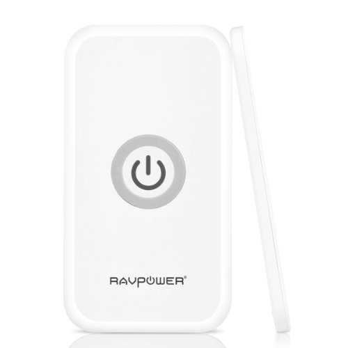 Ravpower® Wireless Charger Charging Pad Qi-Enabled (Free Ac Adapter Included) For Nexus 5 / 7 / 4; Samsung Galaxy S5,S4, S3, Note3, Note2; Droid Charge; Lg Optimus Lte2, Spectrum; Htc Rezound, Incredible 2, Incredible 4 Lte; Motorola Droid 4; Nokia Lumia