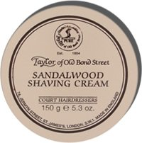 Taylor of Old Bond Street Sandalwood Shaving Cream Screw Tread Pot 150gr