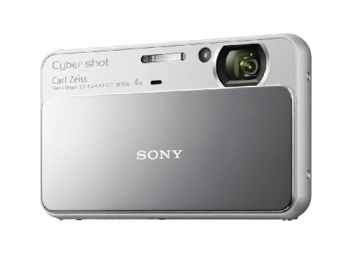 Sony Cyber-Shot DSC-T110 16.1 MP Digital Still Camera with Carl Zeiss Vario-Tessar 4x Optical Zoom Lens and 3.0-inch Touchscreen (Silver)