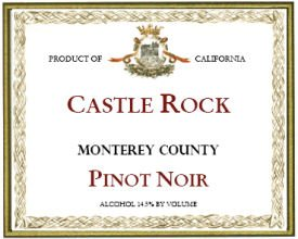 Castle Rock Pinot Noir Monterey County 2010 750Ml
