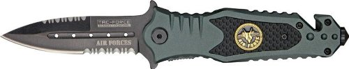 Tac Force TF-700AF Assisted Opening Folding Knife 4.5-Inch Closed