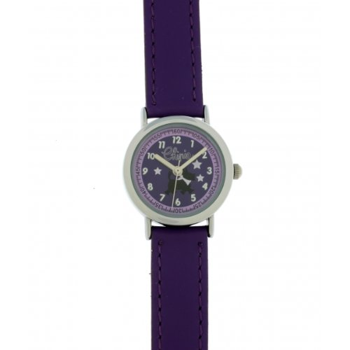 d8734dcf5dae8 Chipie - 5207608 - Montre Fille - Quartz Analogique - Cadran Violet -  Bracelet Polyuréthane Violet. Plus jeune Enfants