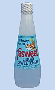Fasweet Liquid Sweetner