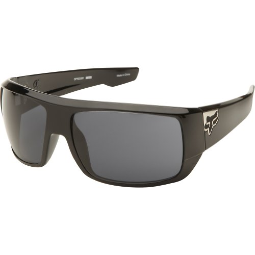 Fox Racing The Redeem '13 Adult Outdoor Sunglasses - Polished Black/Grey / One Size Fits All
