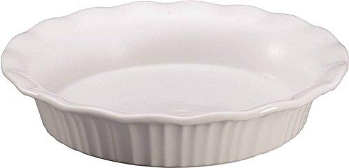 Pie Plate White 9