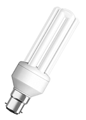 Osram 18W B22D Stick CFL Bulb (White, Pack of 2)