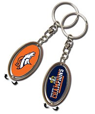 Denver Broncos Superbowl Champions Spinner Keychain (Ring Champion Mlb compare prices)