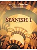 Spanish 1 for Christian Schools: Activities Manual Teacher Ed. (Bob Jones)