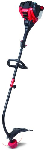 Troy-Bilt Tb525 Ec 17-Inch 29Cc 4-Cycle No Mix Oil And Gas Curved Shaft Trimmer With Jumpstart Technology