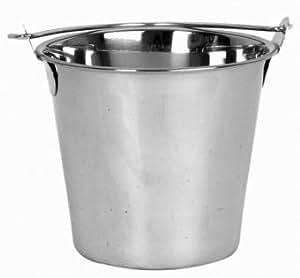 NEW 13 Qt. (Quart) Heavy-Duty Water Bucket, Ice Bucket Utility Bucket - Stainless Steel